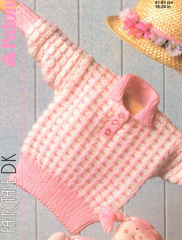 a65e2a34e347 Baby Sweater Knit with 2 Colours 16