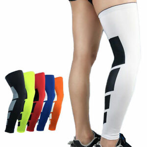 acc89ddac4 Thigh High Compression Calf Sleeves Men Women CFR Knee Support Socks ...