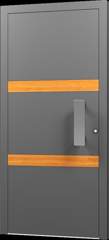 Wohnungstür Eingangstür Haustür Komplett Tür Haustür Aluminiumtür
