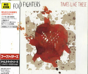 Foo-Fighters-CD-single-CD5-5-034-Times-Like-These-Japanese-promo-BVCP-28010
