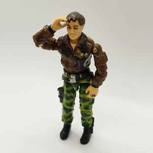 GI-Joe-Vintage-Figurine-Hasbro-ORIGINAL-1986-GENERAL-HAWK-avec-Vintage-Sac-a-dos