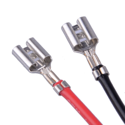 2Pcs H1 HID Xenon Lights Headlight Ballast Adapter Wire Cable Harness for Car