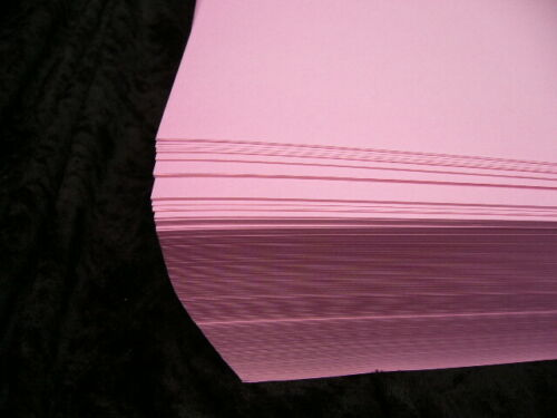 50 Sheets of A3 Wild Rose Paper 80 gsm Laser Inkjet 21327 Papago A3 420x297 Pink