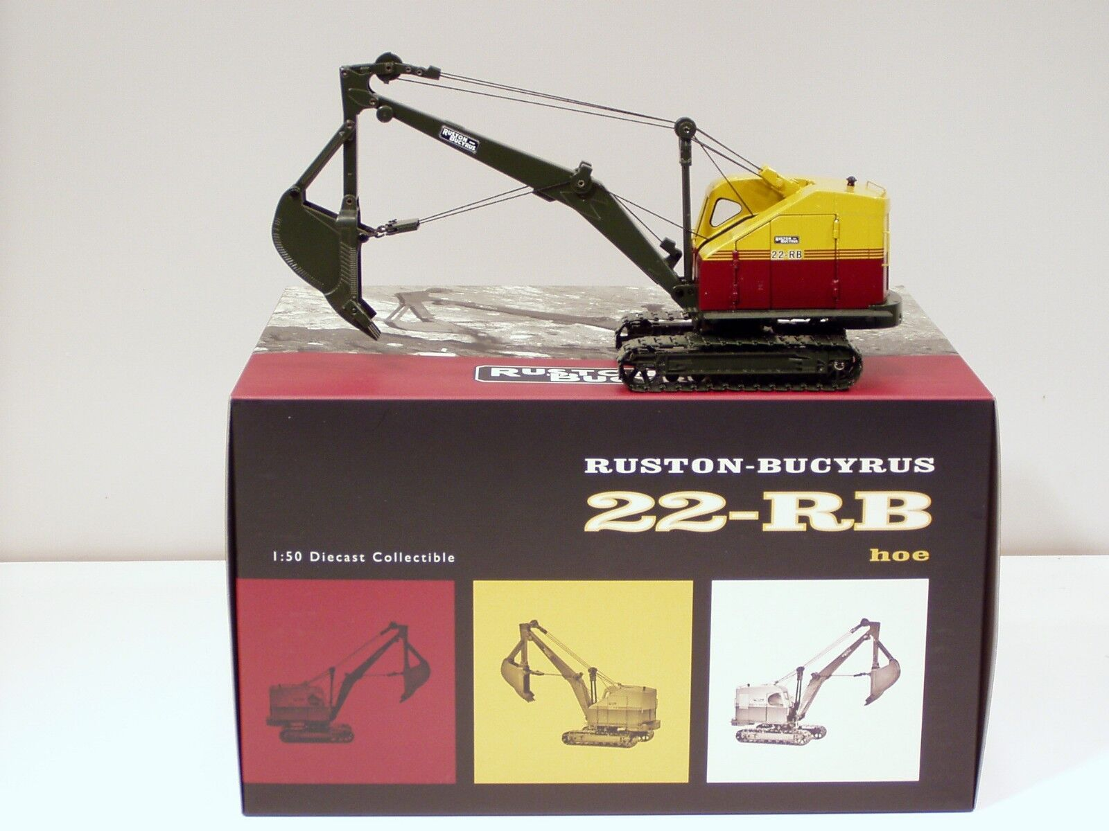 Ruston Bucyrus 22RB Cable Excavator - 1 50 - EMD  002.1 - Metal Tracks