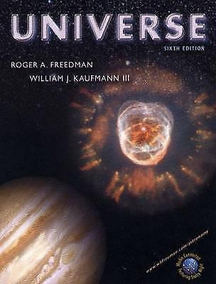 Universe 6th ed, Kaufmann, William J., Very Good Book