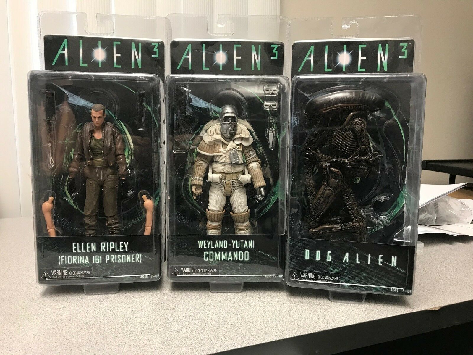 Neca aliens 7  - serie 8 zahlen maßnahmen 01ane07