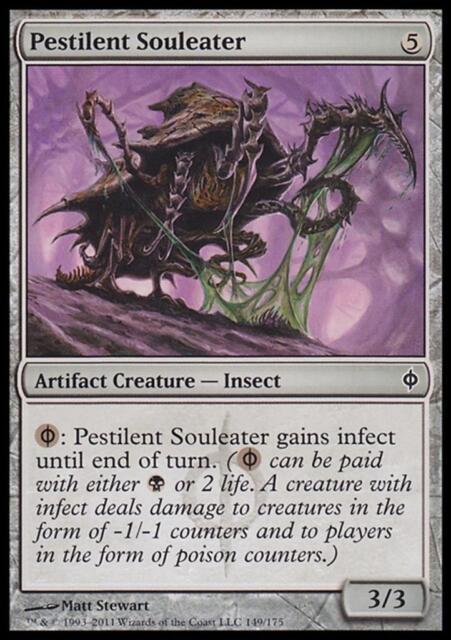 MTG Magic - (C) New Phyrexia - Pestilent Souleater - SP