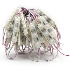 50 UNIDADES 5730 blanco frío LED Módulo Tubo Luz Impermeable ip68 Señalización