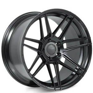 (4) 20x10.5/20x12 Staggered Ferrada Wheels F8-FR6 Matte Black Rims(B32)