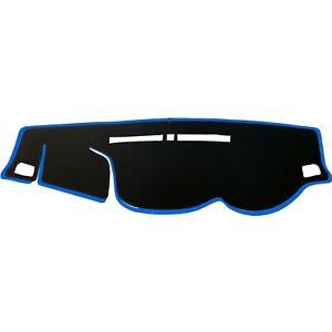 Dash-Mat-Cover-Black-w-Sky-Blue-Edge-for-2015-2019-Mitsubishi-Triton-L200-RHD