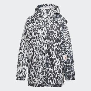 Black adidas AU by Stella McCartney True Pace Run Jacket WIND.RDY