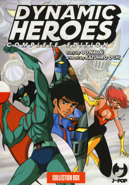 Dynamic heroes. Box. Vol. 1-4 - Nagai Go