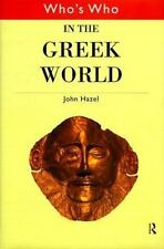 Who's Who in the Greek World (Routledge Who's Who... Series)-ExLibrary