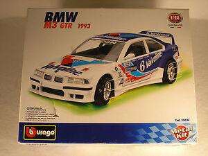 BURAGO-55034-1993-BMW-M3-GTR-METAL-KIT-MADE-IN-ITALY-OB