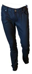 Jeans-Pantalone-Uomo-Strech-Aderente-Elasticizzato-Nero-Denim-REPLAY-Tag-45-W31