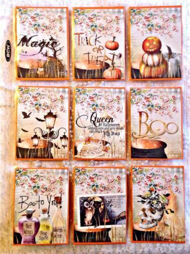Halloween Potions~Pocket Pen Pal Letter Kit~sleeve protector~#21~judysjemscrafts