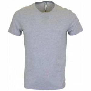 fe5795b8f1a Image is loading G-Star-Thin-Plain-Round-Neck-Grey-T-