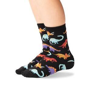 Hot Sox Kids Dinosaur Crew Socks