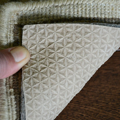 """Diamond-Grip 3/8"""" Thick Non Slip Felt and Rubber Rug Pad - RECTANGLES"""