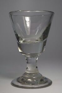 verre ancien bistrot absinthe verre souffl antique bar glass verre epais ebay. Black Bedroom Furniture Sets. Home Design Ideas