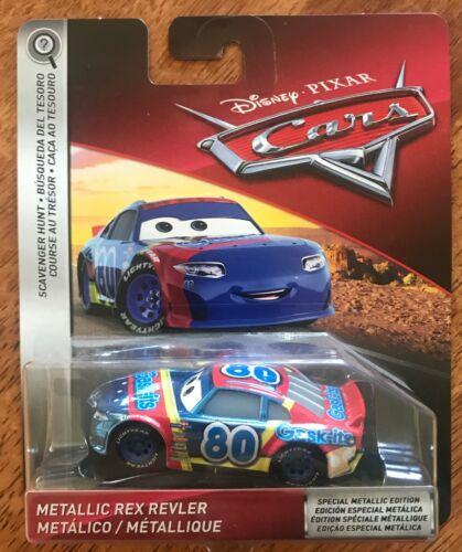 Disney Pixar Cars SCAVENGER HUNT METALLIC REX REVLER New RARE