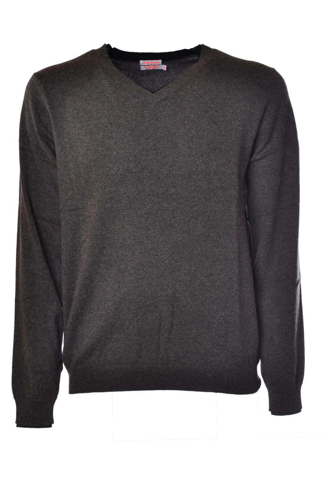 Sun 68 - Knitwear-Sweaters - Man - Grau - 926318C182335