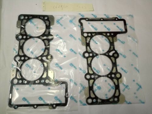 2pcs Stainless Steel Cylinder Head Gaskets For Audi A4 A4Q A6 A7 A8 3.0 2.8 3.2L