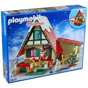 Playmobil-Seasonal-5976-Zuhause-beim-Weihnachtsmann-Christmas-Neu-amp-OVP
