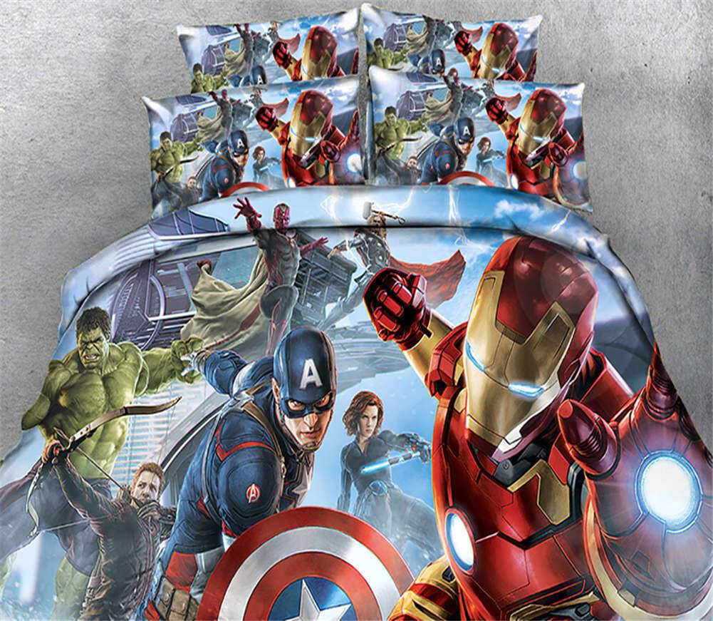 Main Strange Hero 3D Printing Duvet Quilt Doona Covers Pillow Case Bedding Sets