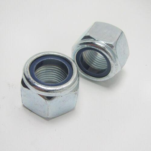 verzinkt,hohe Form Sechskant-Stopmutter DIN 982-8 Mutter auch mit Feingewinde