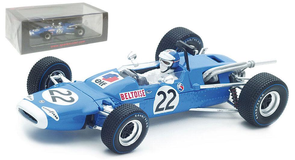 SPARK S4289 MATRA MS7  22 MEXICO GP 1967-Jean-PIERRE 1967-Jean-PIERRE 1967-Jean-PIERRE BELTOISE  SCALA 598c67