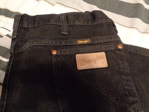 38x34 Jeans Noir Wrangler Taille Vintage O6qnxI56