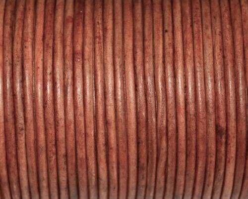 3.0mm alta calidad cordón cuero redondo bisutería,3,0mm cuero de marrón claro