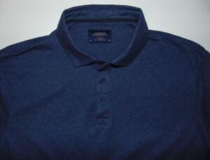Charles-Tyrwhitt-Weekend-Blue-Short-Sleeve-Polo-Shirt-Mens-Size-XXL