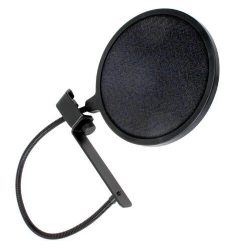 USB Großmembran Kondensator Studio Mikrofon Podcast Bundle Ständer Popschutz