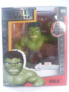 Marvel Avengers Metals Die-Cast Hulk M58 4-Inch Action Figure NEW!