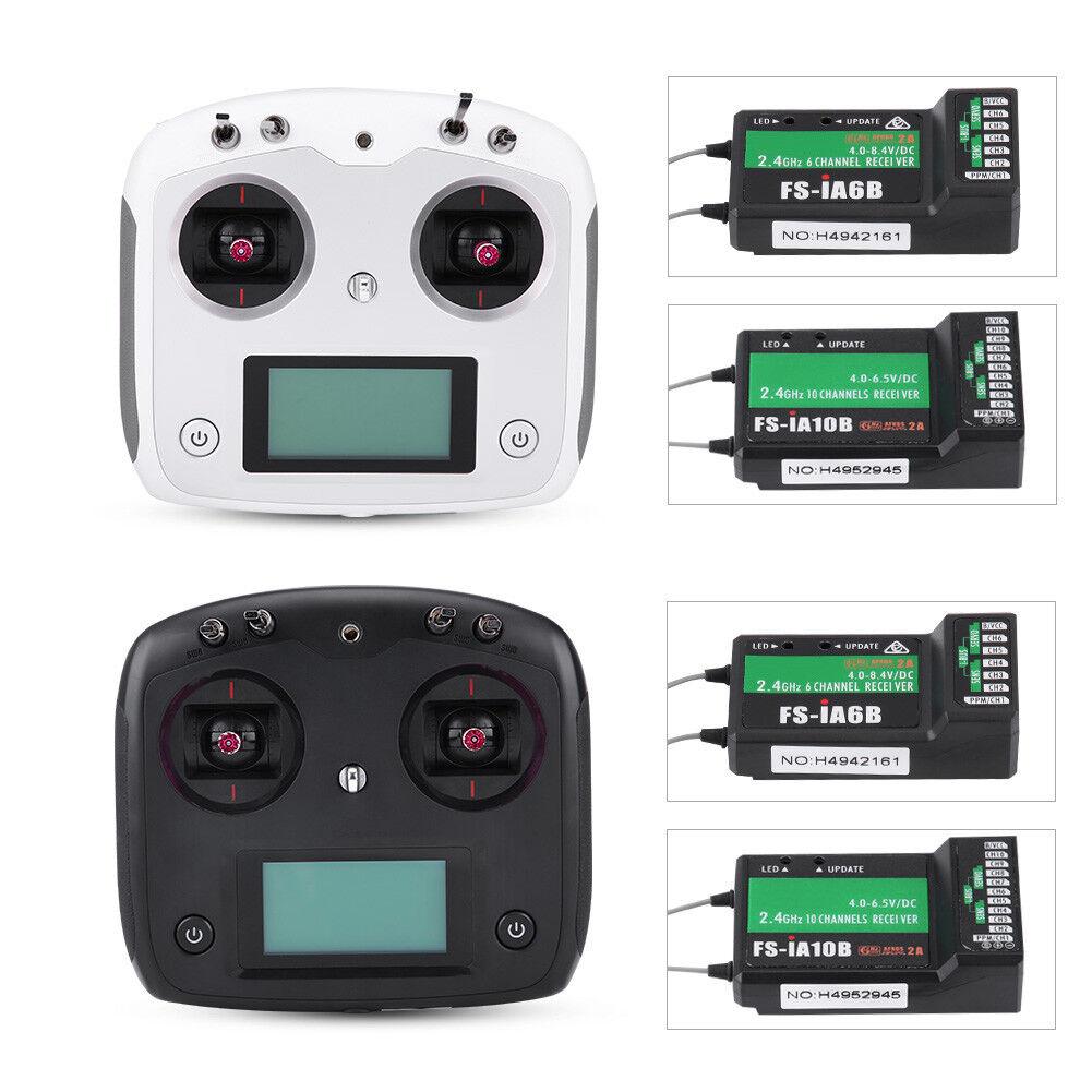 Flysky FS-i6S i6 Transmisor de pantalla táctil 2.4G versión de actualización para Radio Control Teledirigido  K9