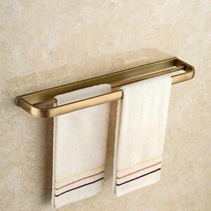 Porte serviette mural en laiton salle de bain rail - Porte serviette salle de bain mural ...