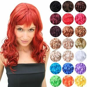 Wig-fiery-Vamp-Diva-curly-and-long-Women-039-s-Party-Wig-LM-142-NEW