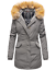 Marikoo-Karmaa-Damen-WinterJacke-Steppjacke-winter-Parka-Mantel-warm-gefuttert miniatuur 32