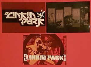 Set-of-3-Rare-Postcards-LINKIN-PARK-2001-2004-Music-Pop-Group