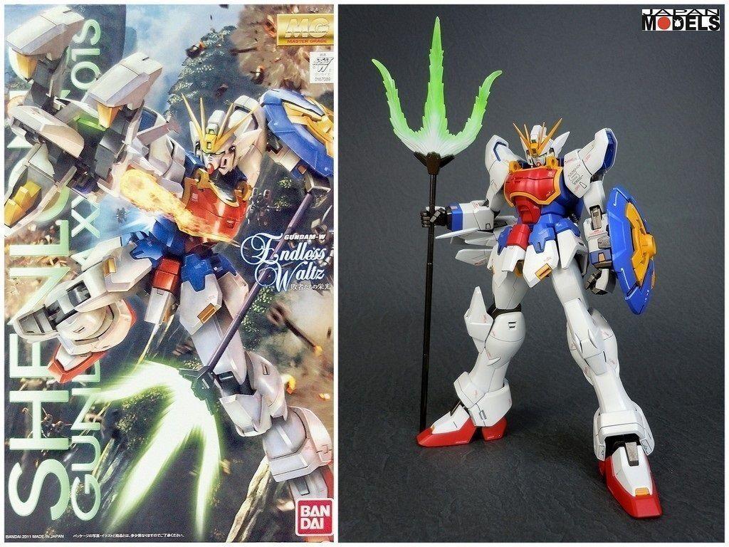 Gundam MG 1 100 XXXG-01S  GUNDAM SHENlungo Endless Waltz Beai modellololo Kit nuovo  negozio a basso costo