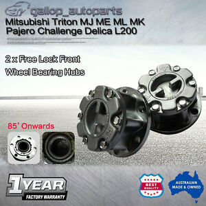 Heavy-Duty-Free-Wheeling-Hub-Lock-Manual-28-spline-Mitsubishi-Triton-Pajero-L200