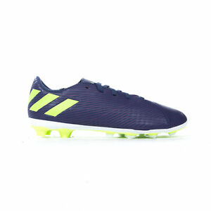 Adidas-nemeziz-Messi-19-4-FXG-Terre-Ferme-Enfants-Football-Soccer-Boot-Purple