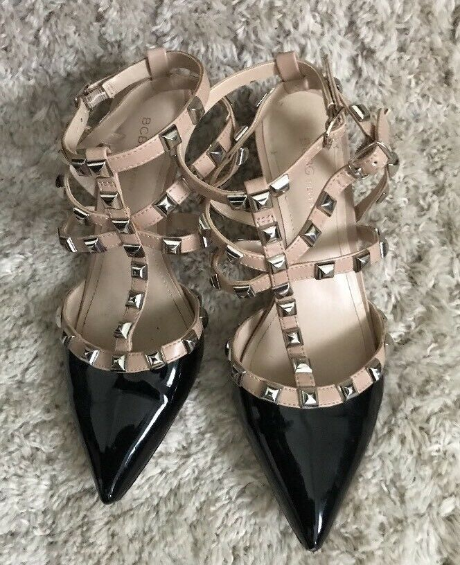 Gentlemen/Ladies BCBGeneration Nice Heels Size 7.5 materials M Reliable quality Selected materials 7.5 Human border 448f6a