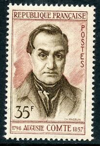 Stamp / Timbre France Neuf N° 1121 ** Celebrite / Auguste Comte