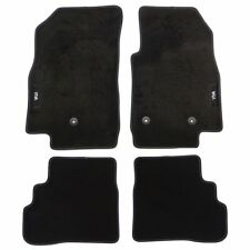 Vauxhall Corsa D 07-14 Sakura Tailored Deluxe Carpet Car Mat Set 4 Pieces Black