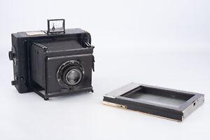 Carl-Zeiss-Jena-Minimum-Palmos-9x12-Plattenkamera-mit-Tessar-136mm-Objektiv-selten-v18