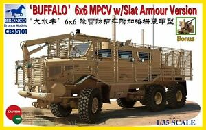 Bronco-1-35-034-Buffalo-034-6x6-MPCV-with-Slat-Grill-Armor-Version-35101