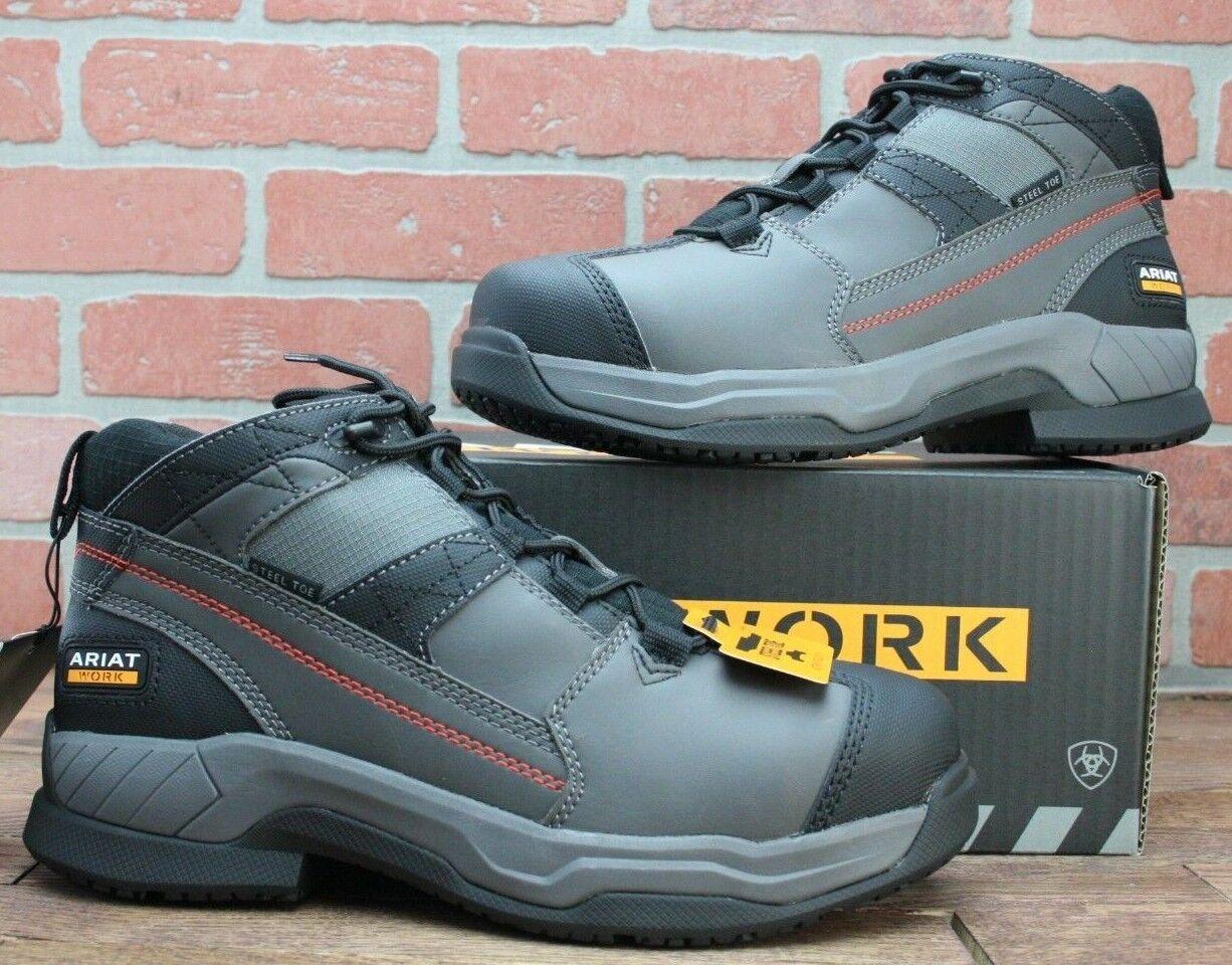 Ariat® Men's Graphite Contender Steel Toe Work Boots 10018553 11 D
